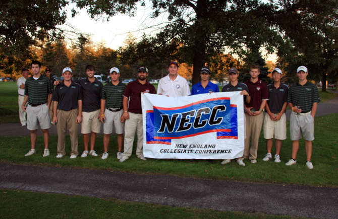 Golf Finishes Fourth In NECC Championships