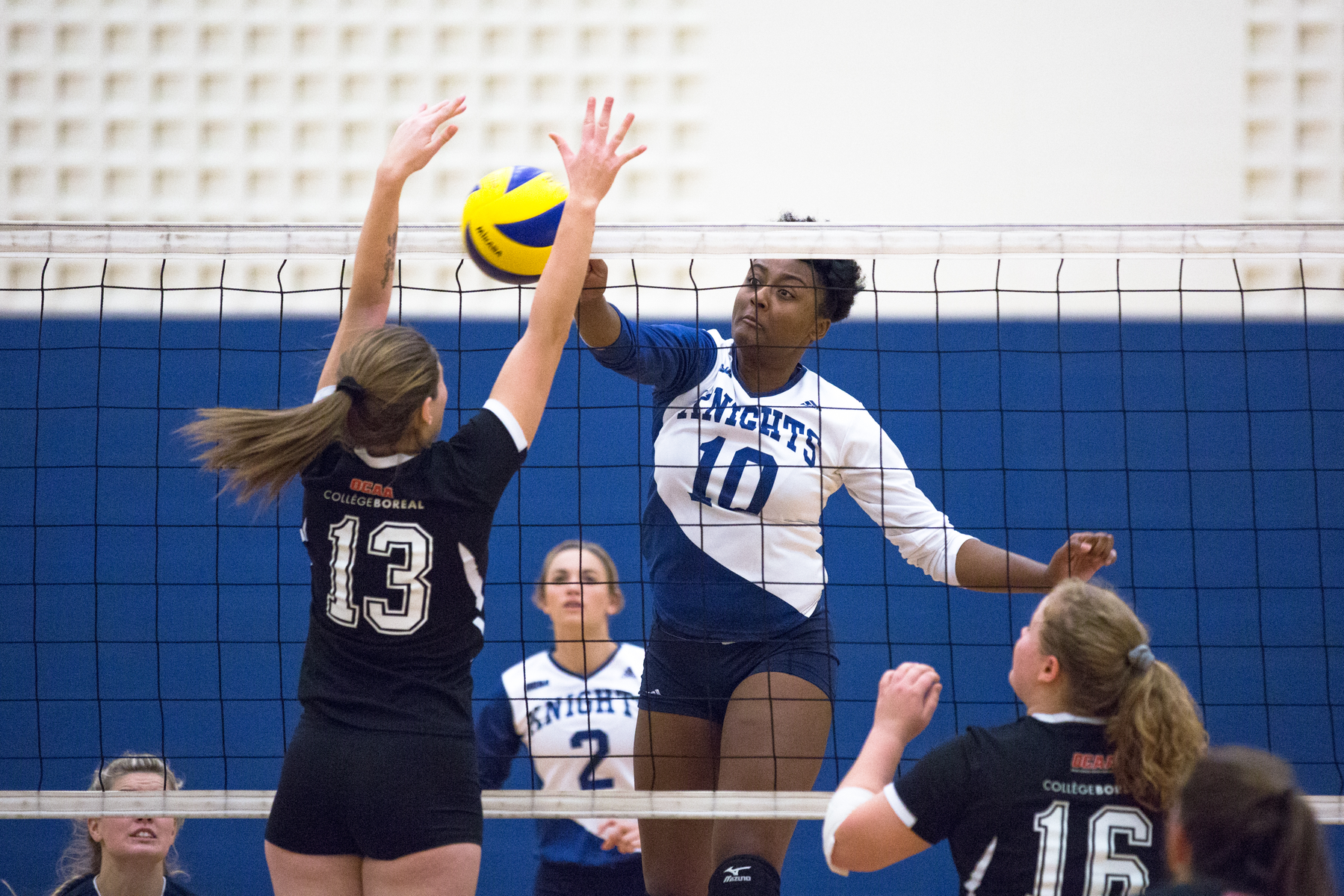 PHOTOS: Knights Women's Volleyball v. Boreal