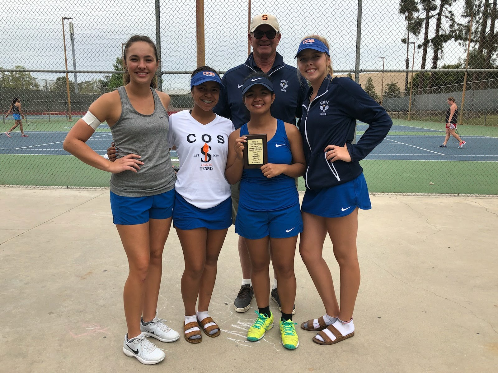 Four Women Tennis Players qualify for the State Championships