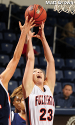Balanced Effort Leads Aggies Past Titans, 60-47