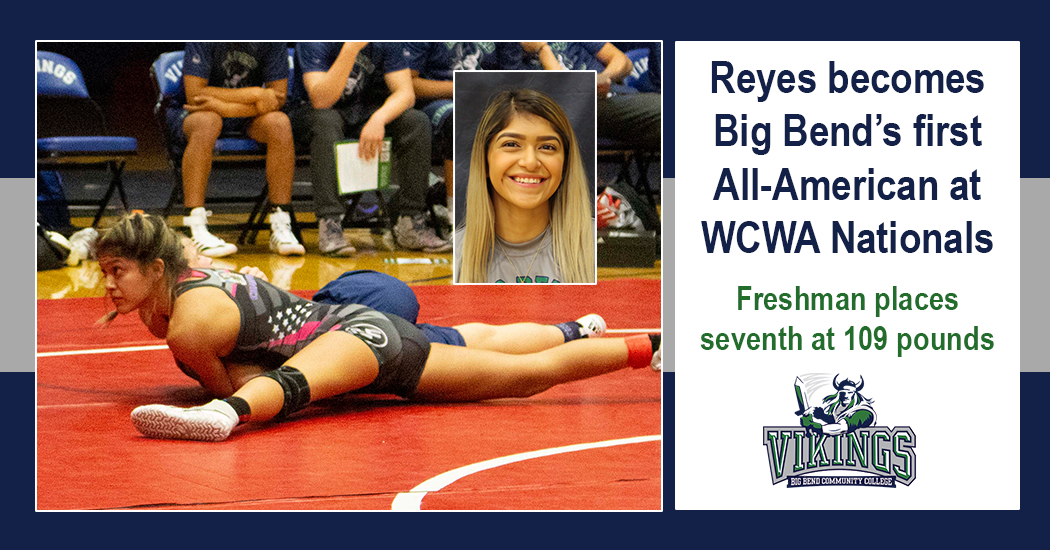 Reyes becomes Big Bend's first All-American wrestler