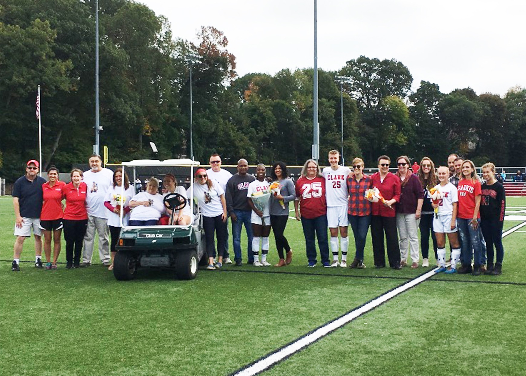 Cougars Edged by Wheaton on Senior Day