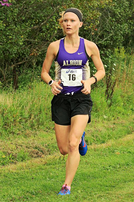 Cassie Vince, Albion, Women's Cross Country Player of the Week 9/5/17