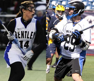 Fields & Holmes Named to Northeast-10 All-Academic Teams