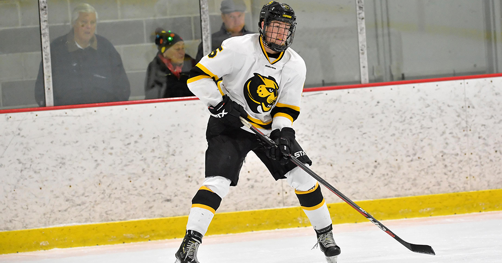 Hockey Opens League Play with Tie at Western New England