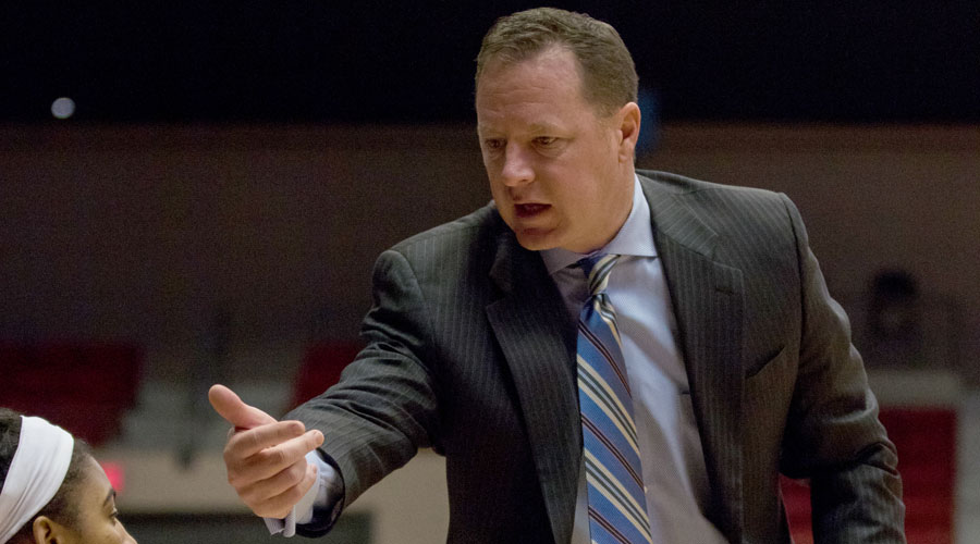 Blue Dragon women's basketball head coach John Ontjes opened his 12th season as head coach at HutchCC on Monday.