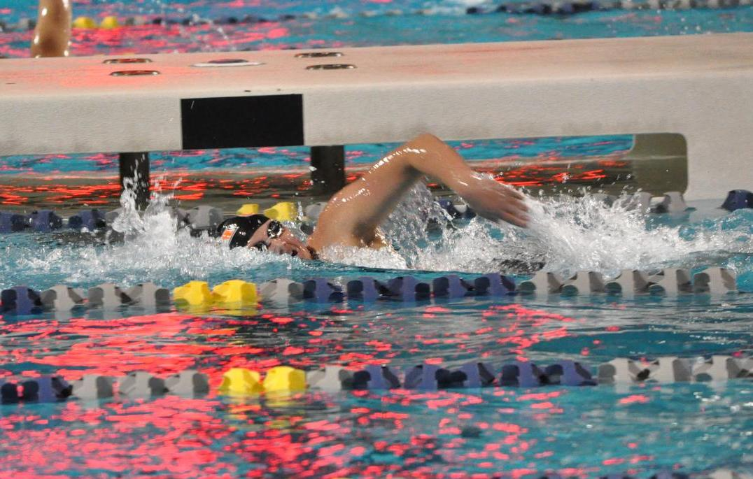 Percin Kicks off SCIACs with Two Records on Same Swim