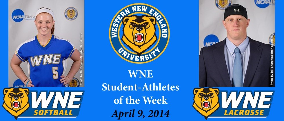 WNE Student-Athletes of the Week Selected for March 31-April 6 Period