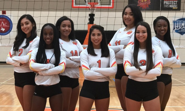Lady Suns Halted by No. 2 Eastfield in MAC Semi-Finals Five Set Thriller