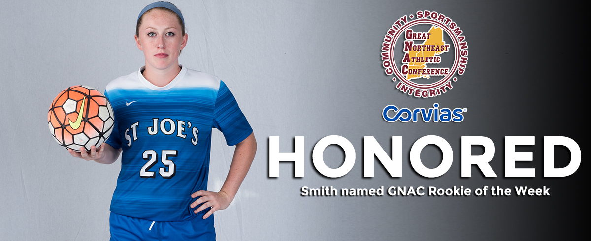 Smith Chosen as GNAC Rookie of the Week