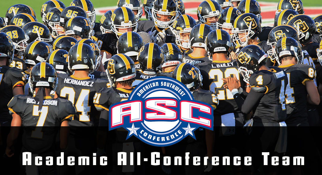 Twenty-Five Football Players Earn ASC Academic All-Conference Honors