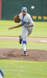 Mario Hollands Named Big West Pitcher of the Week