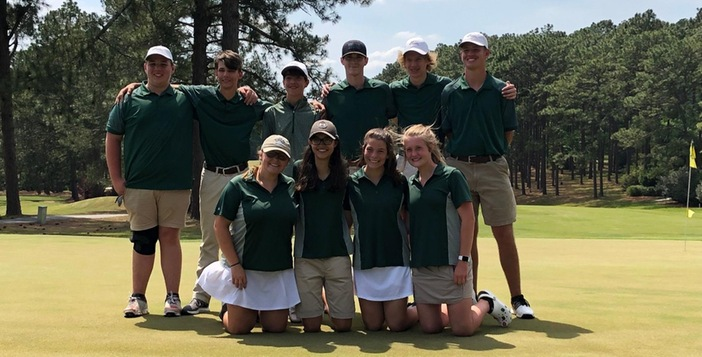 Both Ware Golf Teams Advance to GHSA State Tournament