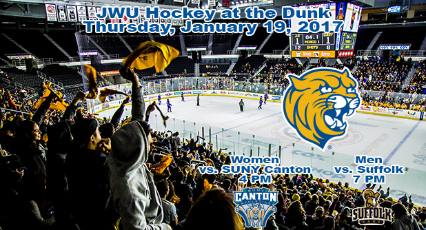 Annual JWU Hockey Games at the Dunk Set for January 19