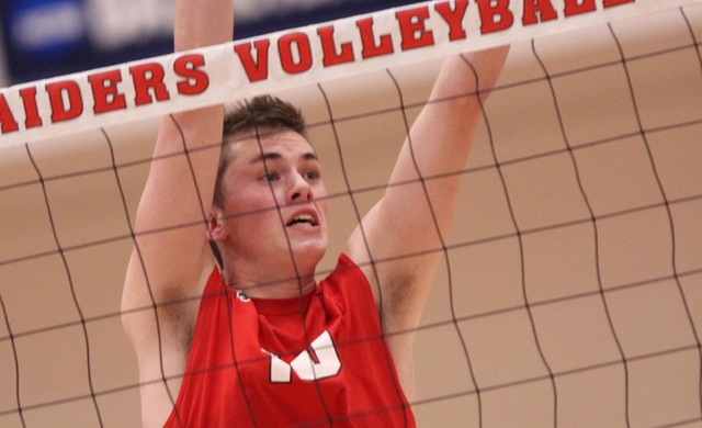 #14 Men's Volleyball Sweeps Stritch to Avenge Loss