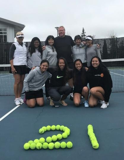 2018, Chabot Women's Tennis