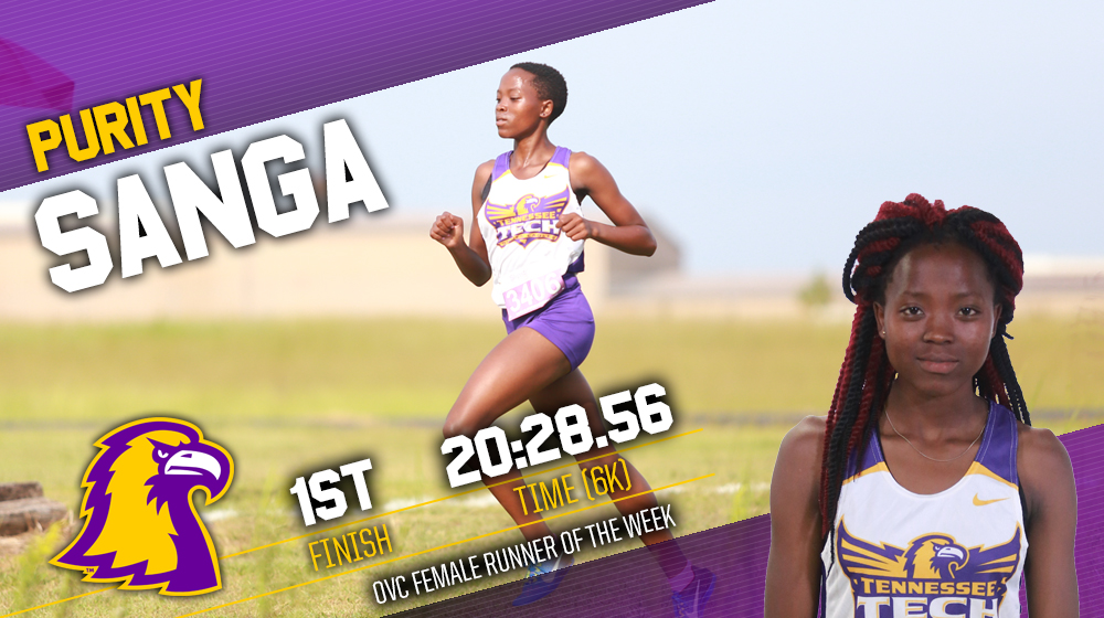 Sanga wins another OVC Runner of the Week, extends streak to five consecutive