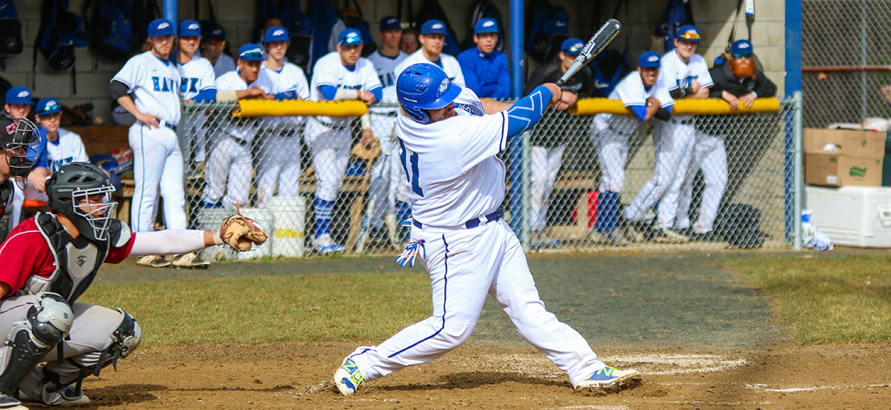 Baseball Falls In NECC Tournament Opener