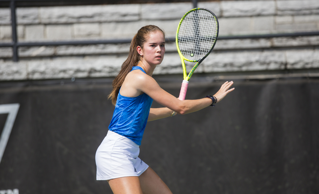 Gonzalez-Rico Drops Consolation Match to UCLA's Abi Altick at ITA National Fall Championships