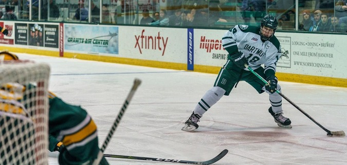Dartmouth takes down St. Lawrence to take series lead