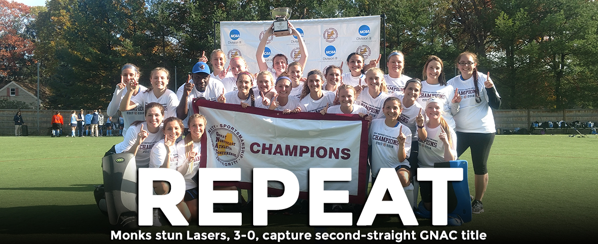 Monks Stun Top-Seeded Lasers in GNAC Championship