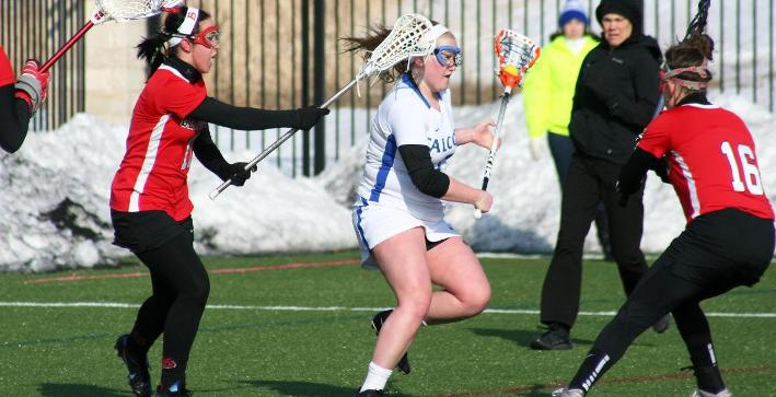 Women's Lacrosse routs Benedictine in home opener