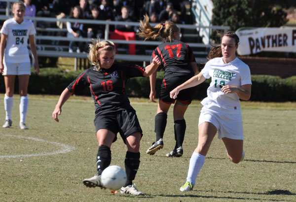 Women's Soccer: Piedmont rallies to beat Panthers for GSAC title