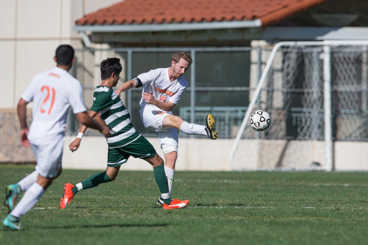 Wilkening Nets Fourth Goal for Men's Soccer at Redlands