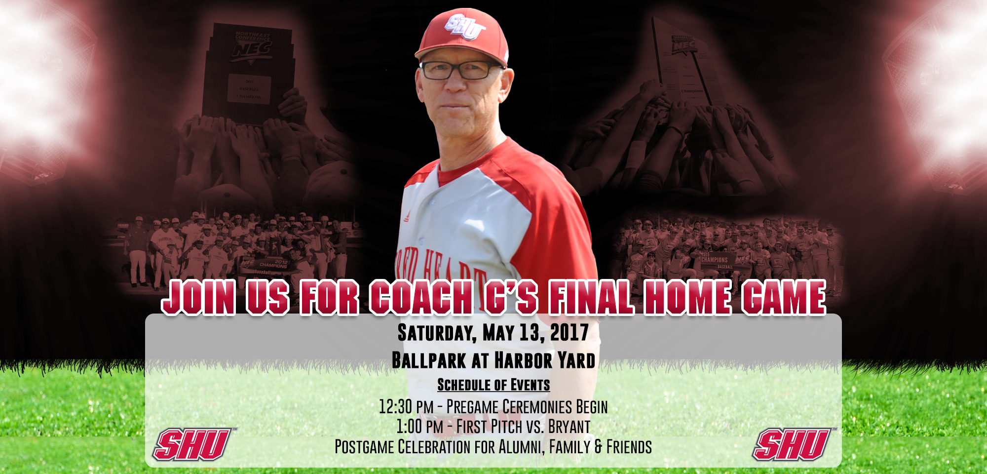 SHU to Hold Celebration for Coach Giaquinto's Final Home Game