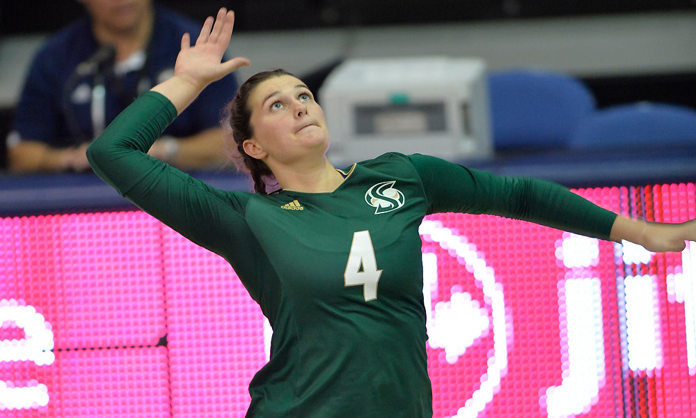 VOLLEYBALL HOSTS NORTH DAKOTA ON THURSDAY IN BATTLE OF THE BIG SKY UNBEATENS