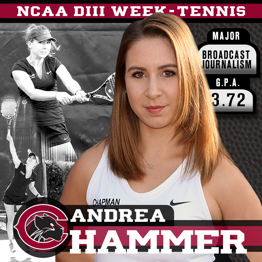 D3 Week Student-Athlete Profile: Andrea Hammer, Tennis