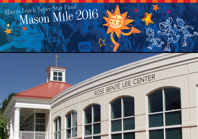 Men's lacrosse teams up with Mason Leach Superstar fund to host 2016 Mason Mile