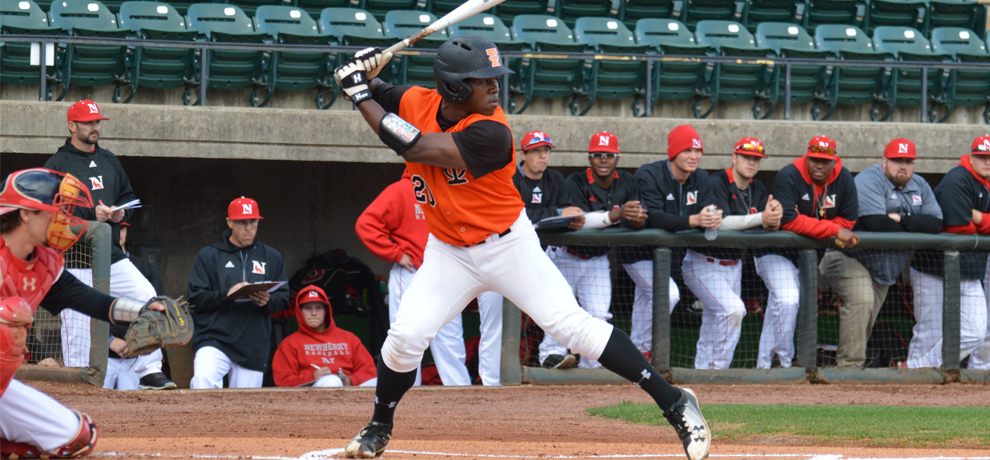 Jarel McDade went 3-for-4 with two RBI and this solo home run in the first inning (photo by Kendrick Grant)