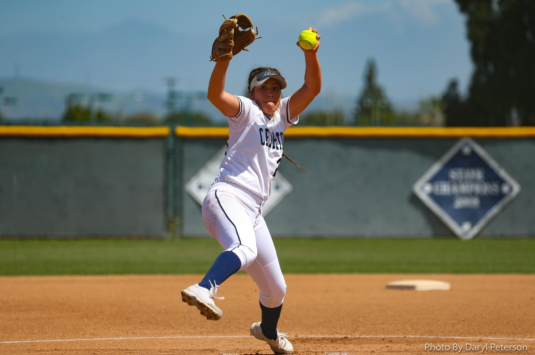 File Photo: Sierra Gerdts pitched a complete game against El Camino