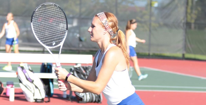 Falcons split non-conference matches on the road