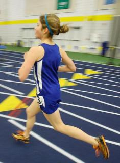 Blue Track Races at New England Championships