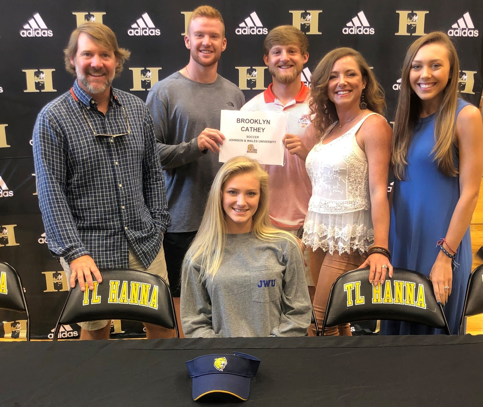 T.L Hanna's Cathey Inks With Women's Soccer