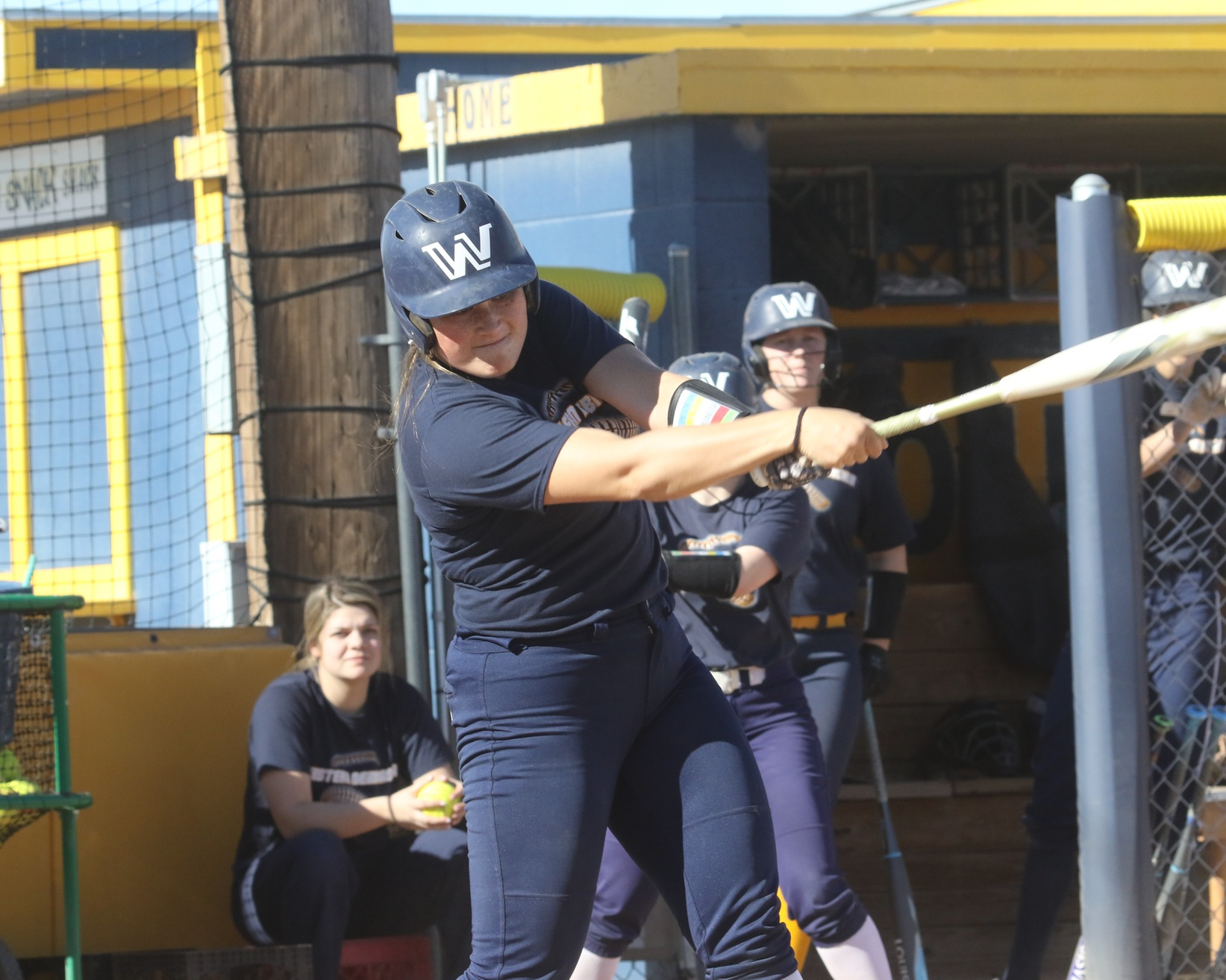 Rees hits grand slam, softball falls to Howard