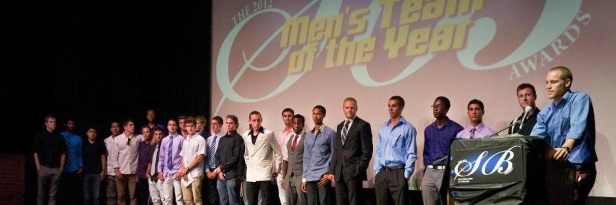 2012 Men's Team of the Year - Track & Field (Photo by Randy Lamb)
