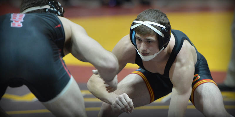 Storm fall to Dubuque in final home dual