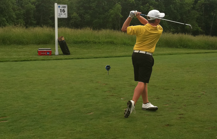 Griffin in Contention at National Championships