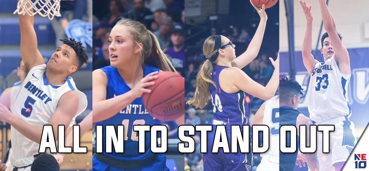 Bentley and Stonehill Doubleheader to be Featured in NCAA Division II Basketball Showcase
