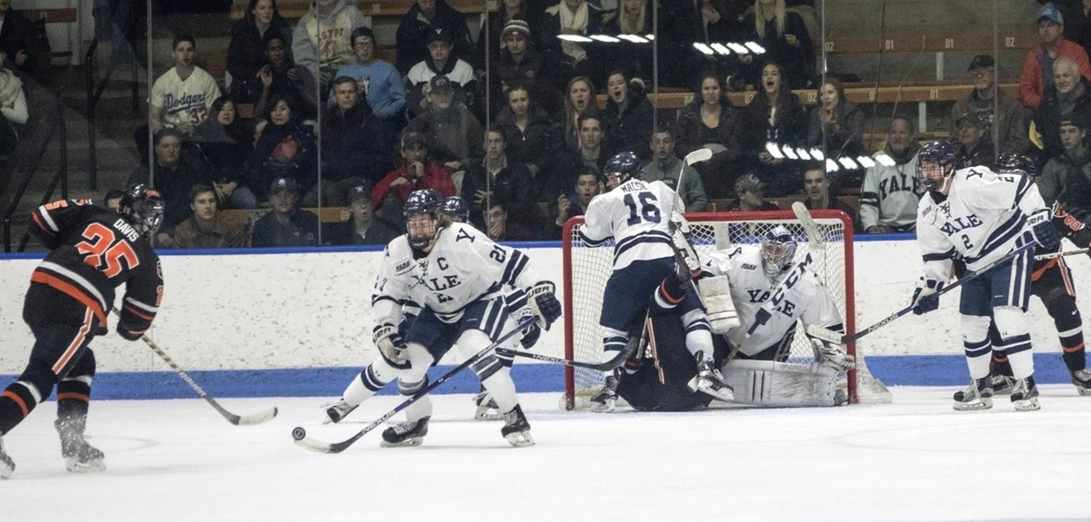 Yale Drops Game Against Princeton