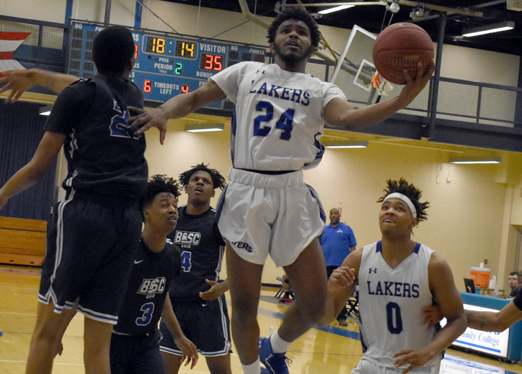 Lakeland holds off late Bryant & Stratton charge for win, 94-76