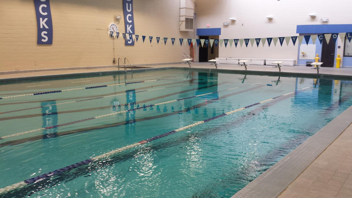 Facilities bucks county community college for Swimming pools buckinghamshire