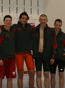 800-yard freestyle relay champions