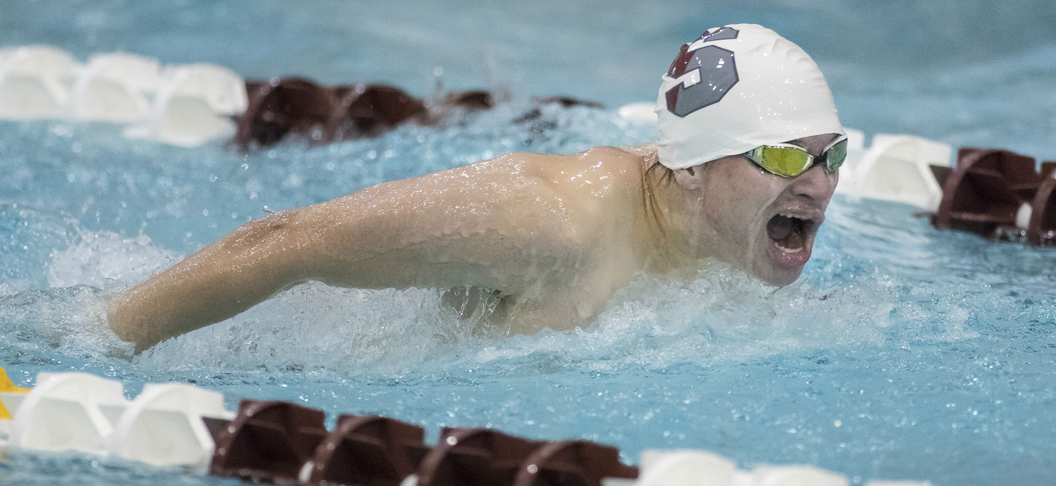 Men's Swimming and Diving Takes Ninth at Ithaca College Invitational