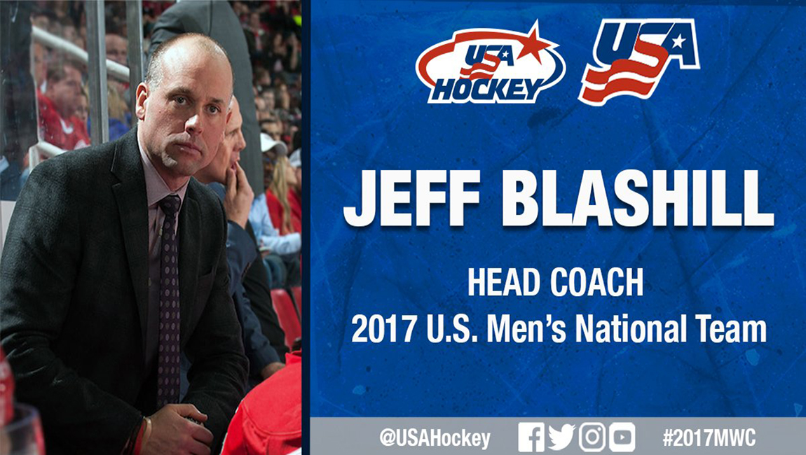 Ferris State Hockey Alum & NHL Head Coach Jeff Blashill To Coach 2017 U.S. National Team
