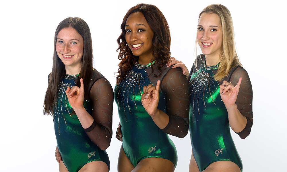 GYMNASTICS TRAVELS TO UTAH STATE FOR THREE-TEAM MEET ON FRIDAY