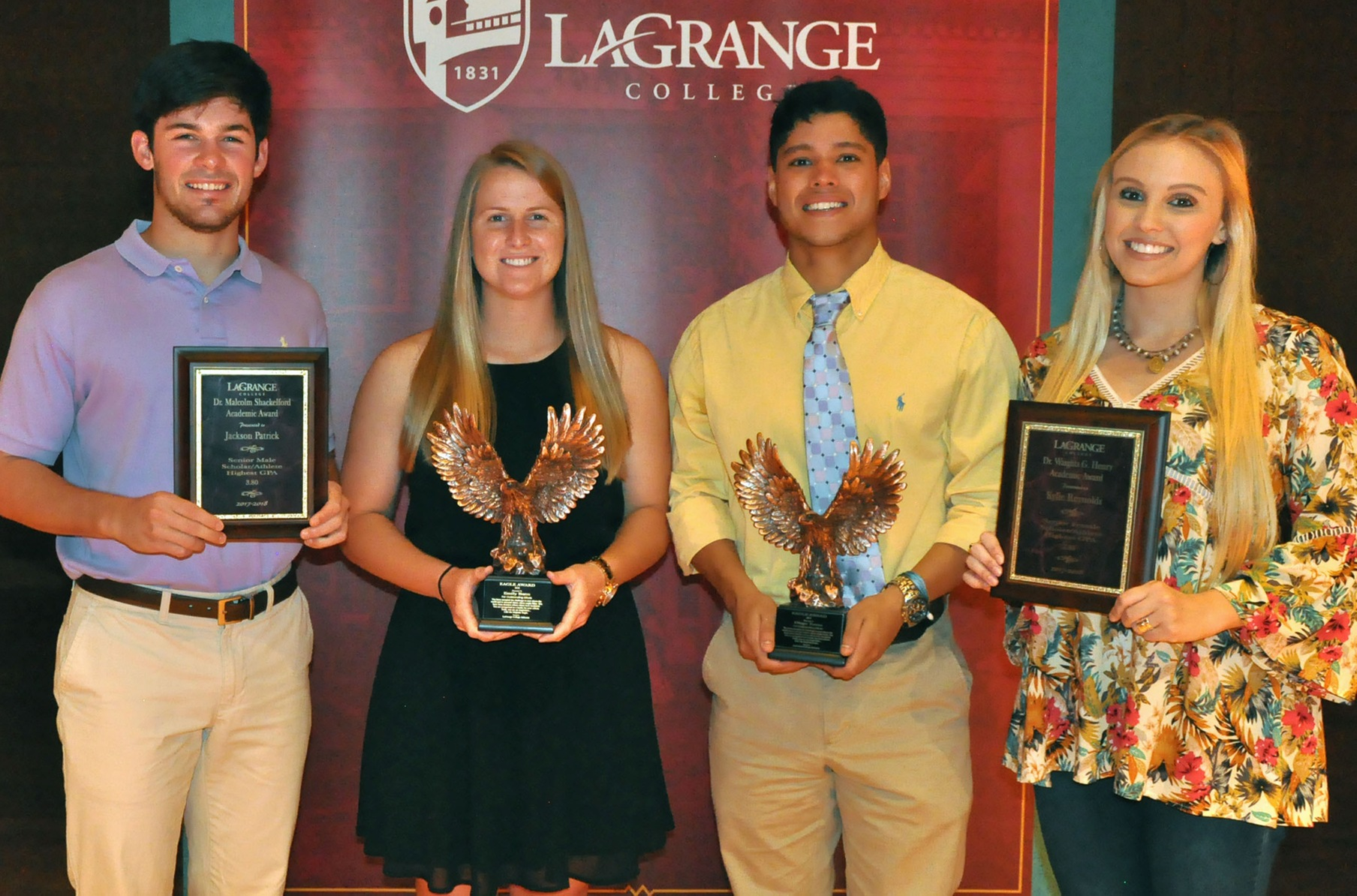 Panther student-athletes presented academic awards